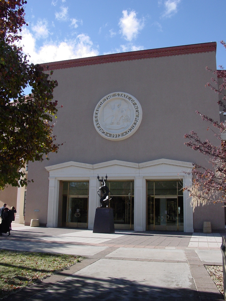 new mexico, nm, state, capitol, Santa Fe
